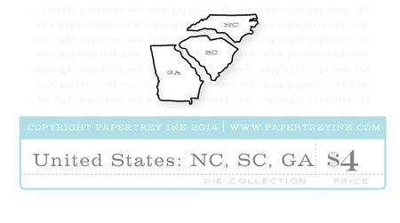 United-States-NC-SC-GA