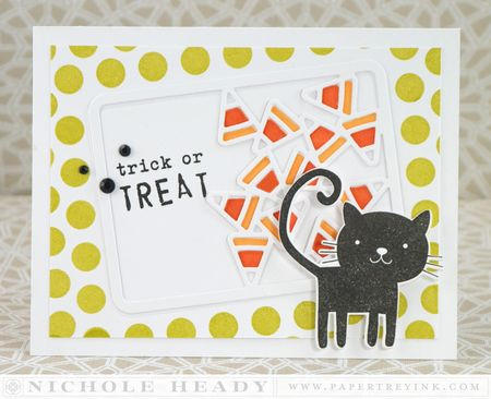 Trick or Treat Cat Card