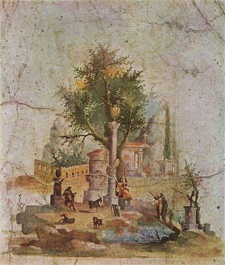 Fresco From The Villa of Agrippa Postumus