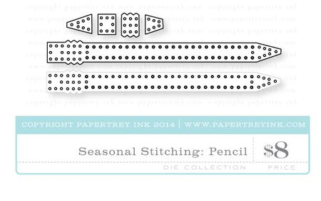 Seasonal-Stitching-Pencil-die