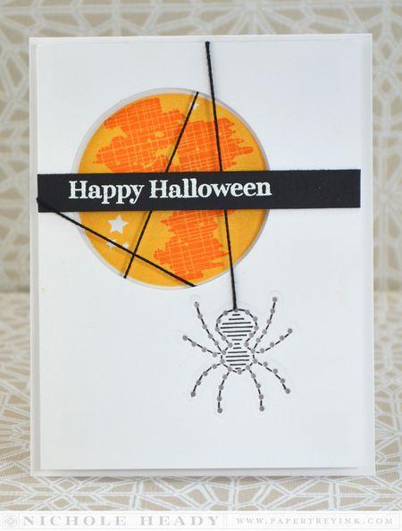 Spider Halloween Card