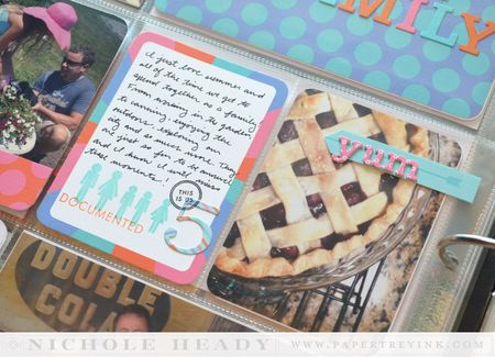 Pie & journal card
