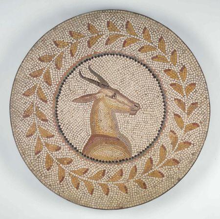 Gazelle Mosaic