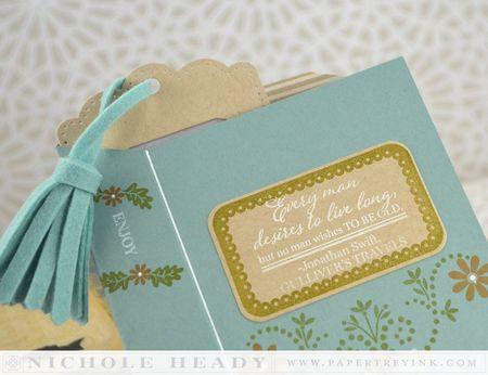 Bookmark in card