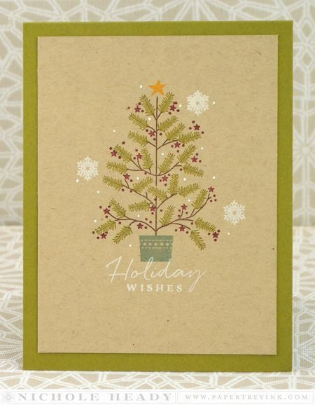 Homespun Holiday Wishes Card
