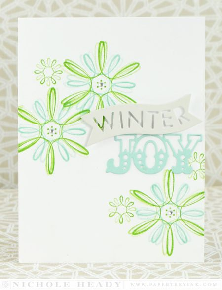 Winter Joy card
