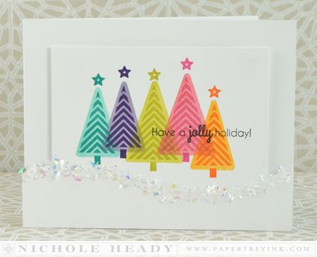 Jolly Holiday Card