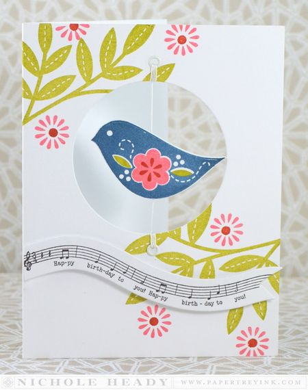 Birthday Birdie Card