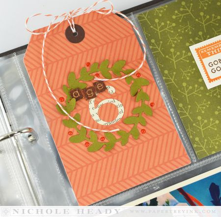 Wreath tag
