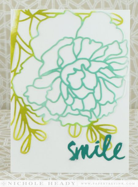 Floral Smile Card