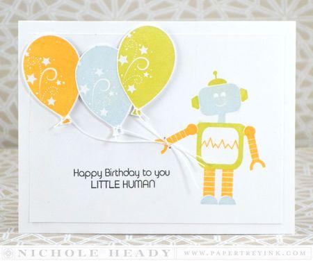 Happy Birthday Little Human Card