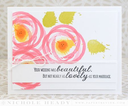 Lovely Marriage Card