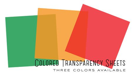 Colored-Transparency-Sheets