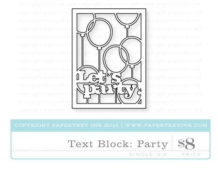 Text-Block-Party-die