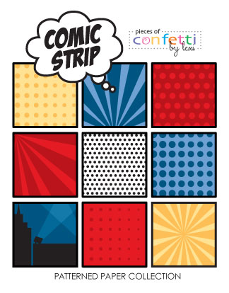 Comic-Strip-paper-cover