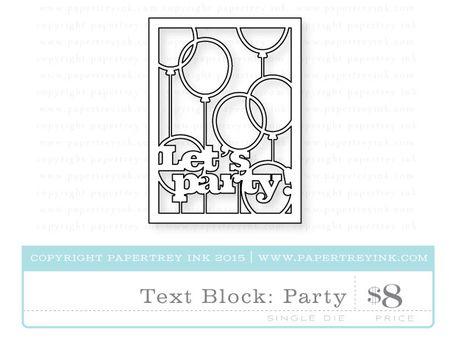 Text-Block-Party-die