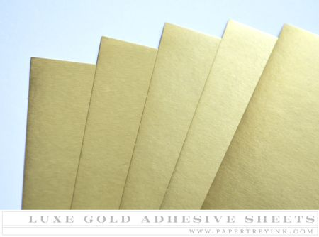 Luxe Gold Adhesive Sheets