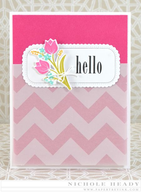 Hello Tulips Card