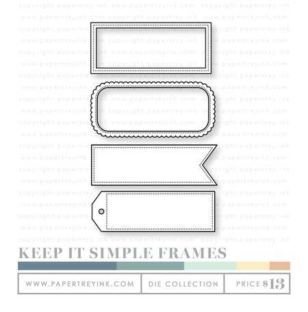 Keep-it-simple-frames-dies