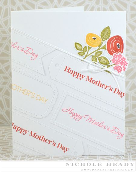 Framed Mothers Day Card