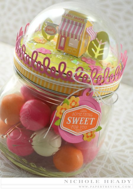 Something Sweet Jar Topper