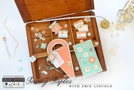 Sewing Staples Kit