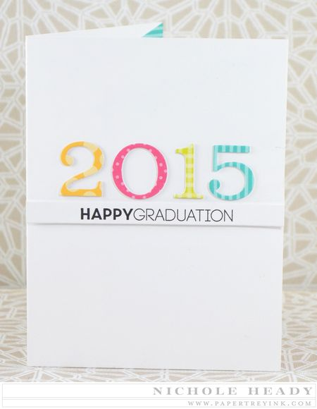 2015 Grad Pop Up Card