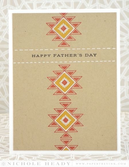 Tribal Father's Day Card