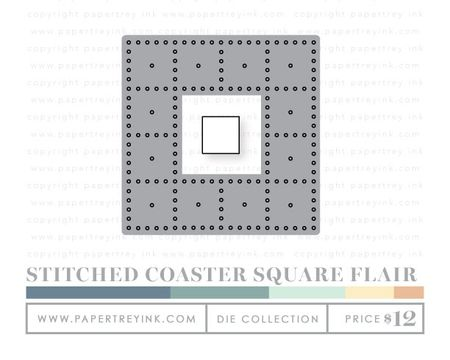 Stitched-coaster-square-flair-dies