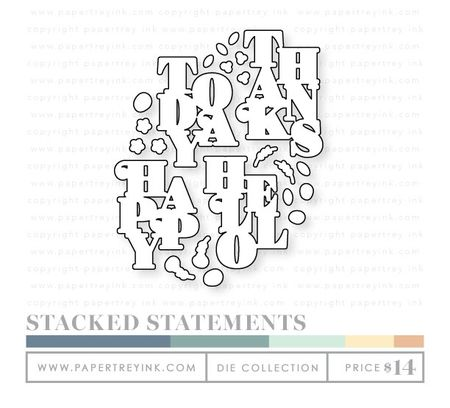 Stacked-statements-dies