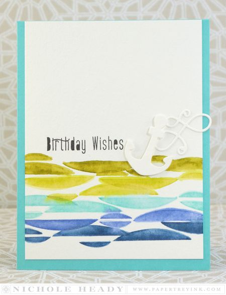 Nautical Birthday Wishes Card