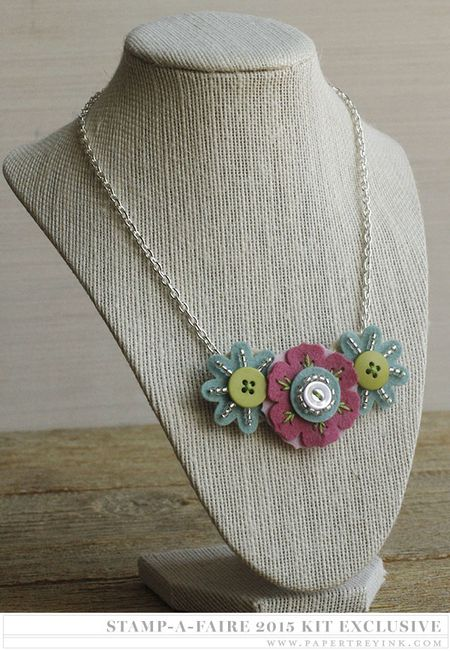Tri-Flower Necklace example