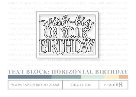 Text-block-horizontal-birthday-die