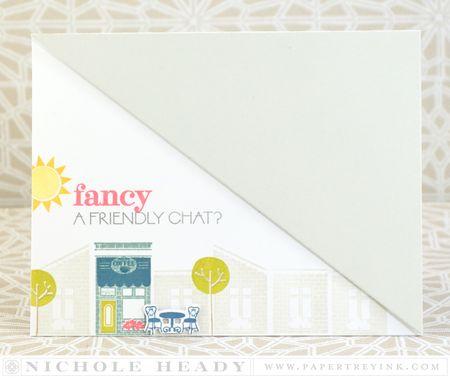 Fancy a Chat card