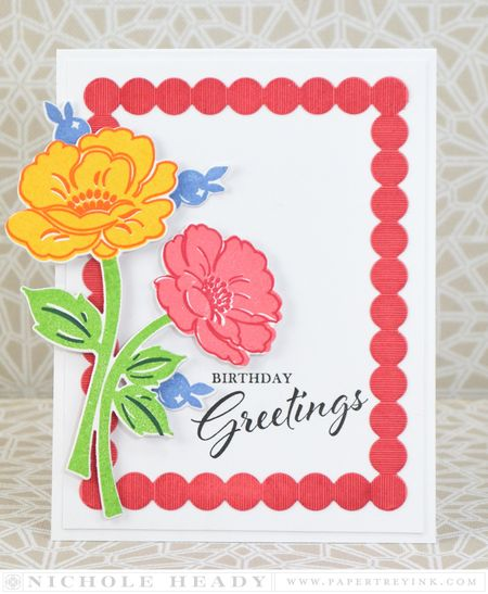 Vintage Birthday Greetings Card