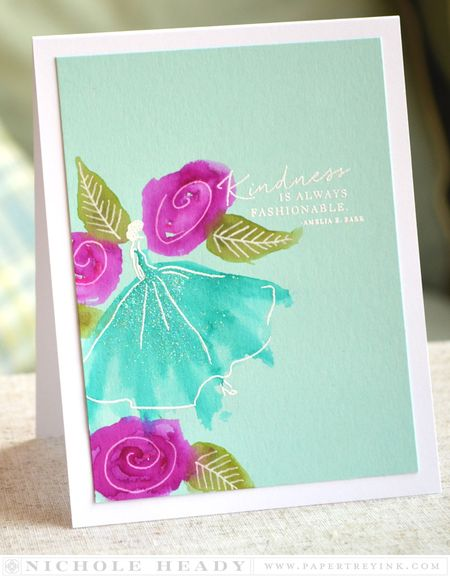Kindness is Fashionable Card