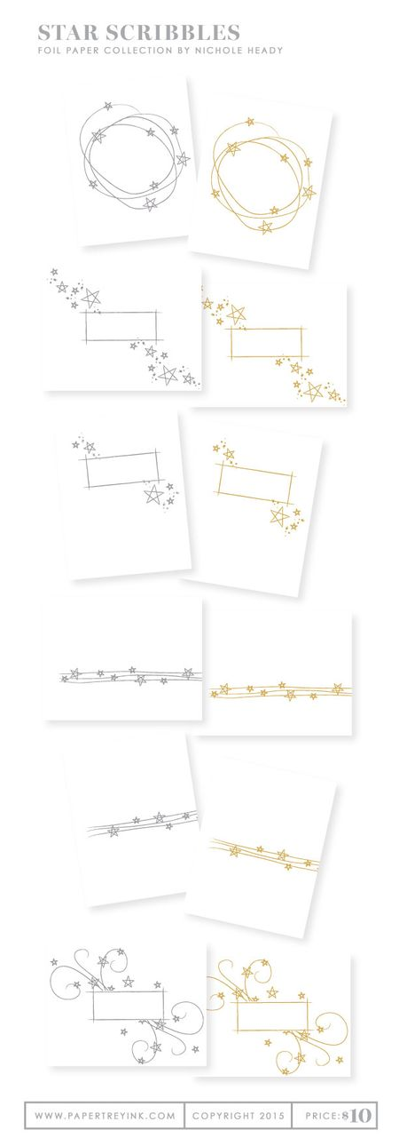 Star-Scribbles-foil-paper-collection