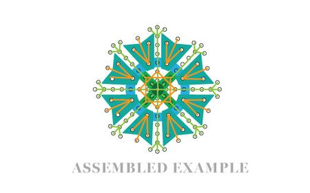 Assembled-medallion