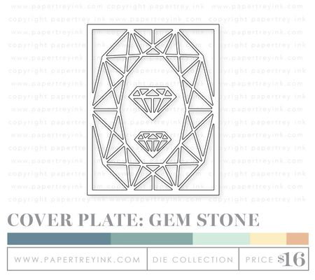 Cover-plate-gem-stone-dies
