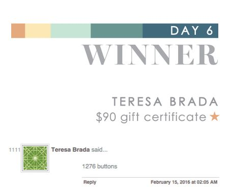 Day 6 Teresa