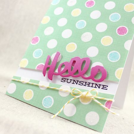 MIM239 - Hello Sunshine Close Up