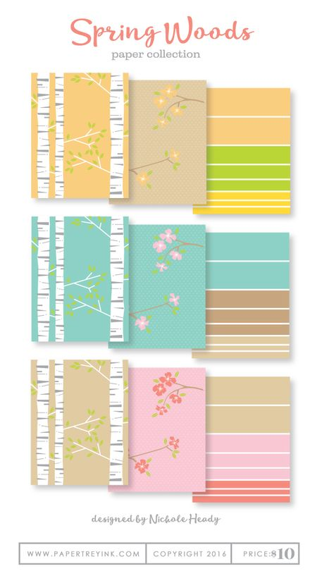 Spring-Woods-paper-collection