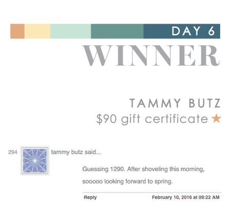 Day 6 Tammy