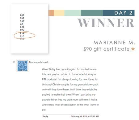 Day 2 Marianne