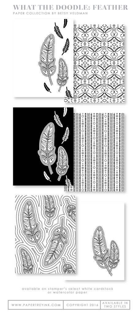 What-the-Doodle-Feather-paper-collection