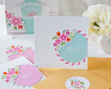 Scalloped Notecard die