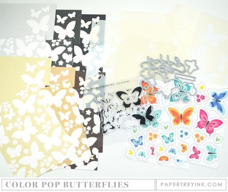 Color Pop Butterflies KIt