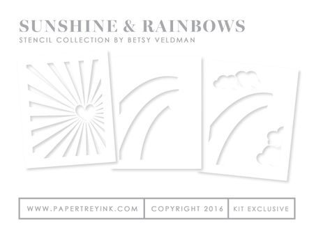 Sunshine-&-Rainbows-Stencils