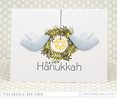 Hanukkah Doves Card