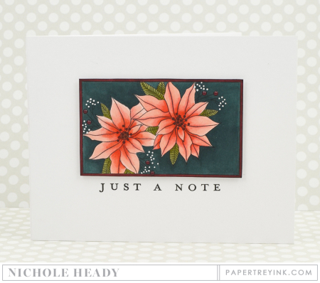 Poinsettias Note